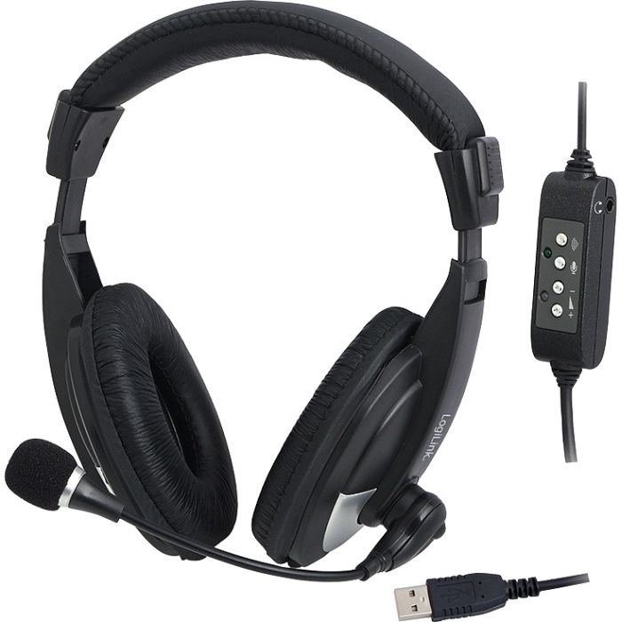 LogiLink USB stereo headset High Quality (HS0019)