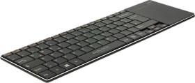 DeLOCK wireless Keyboard, black, USB, DE (12454)