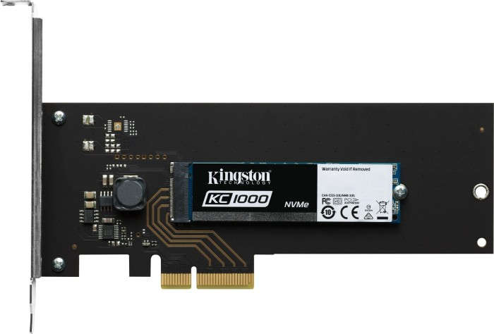 Kingston KC1000(H) 480GB, PCIe 3.0 x4 (SKC1000H/480G)