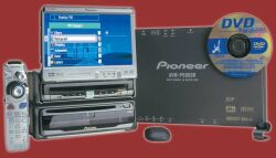 Pioneer AVIC90DAV DVD Navigation Package