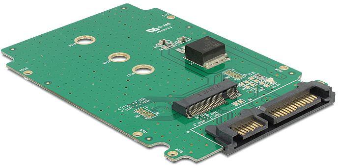 DeLOCK Converter SATA 22 Pin > M.2 NGFF (62521)