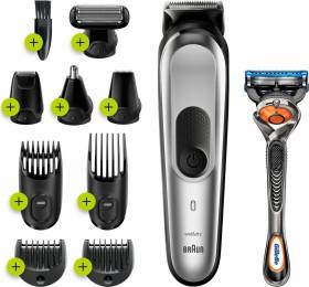 Braun MGK 7220 Multi-Grooming-Kit Haar-/Bartschneider silber