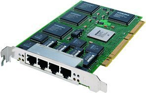 Adaptec Quartet66, 4x 100Base-TX, 64bit PCI (ANA-64044LV/1932500)