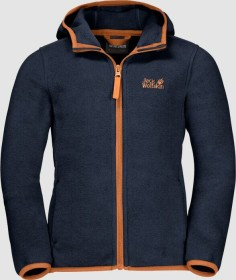 Jack Wolfskin Baksmalla Hooded Jacke midnight blue (Junior) (1607621-1910)