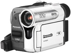 Panasonic NV-GS10 srebrny