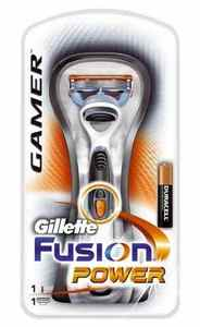 Gillette fusion Gamer Power battery shaver