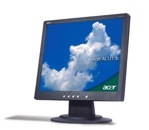 "Acer Value Line AL1713b czarny, 17"", 1280x1024, VGA"