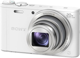 Sony Cyber-shot DSC-WX350 white