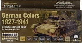 """Vallejo Model Air """"German Colors 1927-1941"""" Farbset, 8-tlg. (71.205)"""