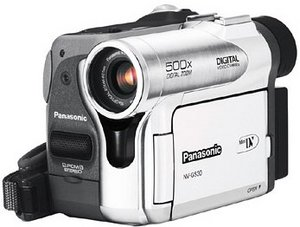 Panasonic NV-GS30 srebrny