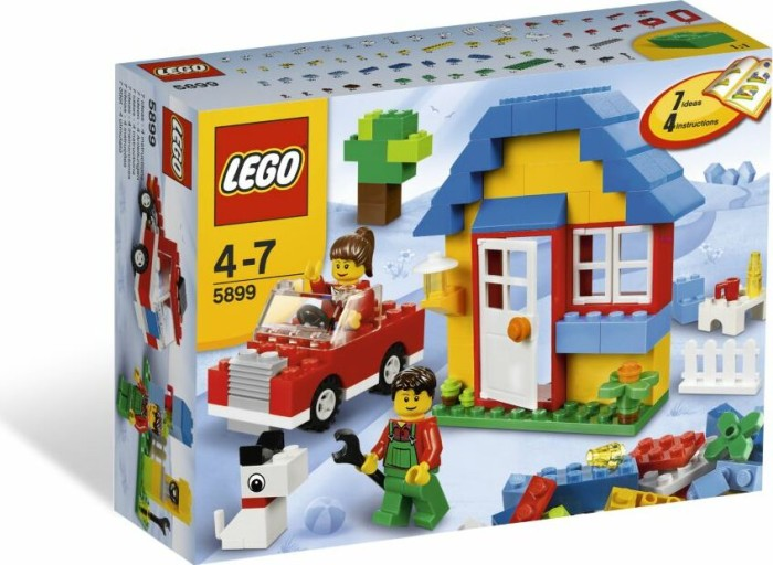 LEGO Steine & Co. - Bausteine Haus (5899) -- via Amazon Partnerprogramm