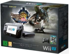 Nintendo Wii U Premium Pack - 32GB Monster Hunter 3 Ultimate Bundle schwarz