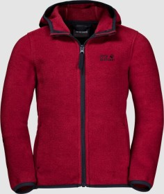 Jack Wolfskin Baksmalla Hooded Jacke dark lacquer red (Junior) (1607621-2027)