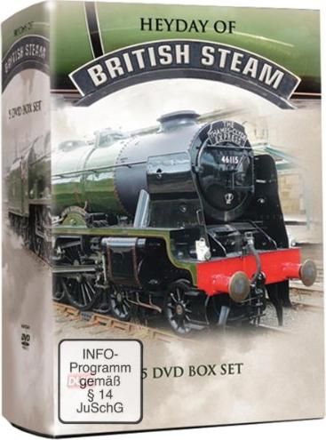 Bahn: Best of British Steam (verschiedene Filme) -- via Amazon Partnerprogramm
