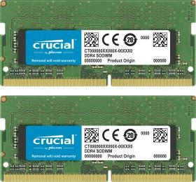 Crucial SO-DIMM Kit 16GB, DDR4-2400, CL17 (CT2K8G4SFD824A)