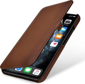 Stilgut Book Type Leather Case Clip für Apple iPhone 11 Pro Max braun (B07ZYZ4J9W)
