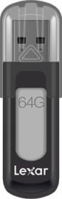 Lexar JumpDrive V100 Black 64GB, USB-A 3.0 (LJDV100-64GABBK)