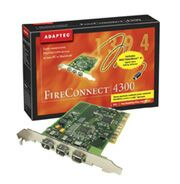 Adaptec AFW-4300 FireConnect 4300, 3x FireWire, PCI, Kit (1890600)