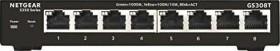Netgear S350 Desktop Gigabit Smart Managed Switch, 8x RJ-45 (GS308T-100)