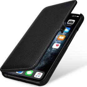 Stilgut Book Type Leather Case Clip für Apple iPhone 11 Pro Max schwarz (B07XRQT43K)