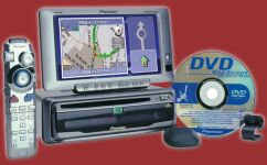 Pioneer AVIC-60D DVD Navigation Package