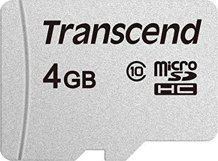 Transcend 300S R20 microSDHC 4GB, Class 10 (TS4GUSD300S) -- via Amazon Partnerprogramm