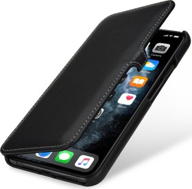 Stilgut Book Type Leather Case Clip Nappa für Apple iPhone 11 Pro Max schwarz (B07YZGV297)