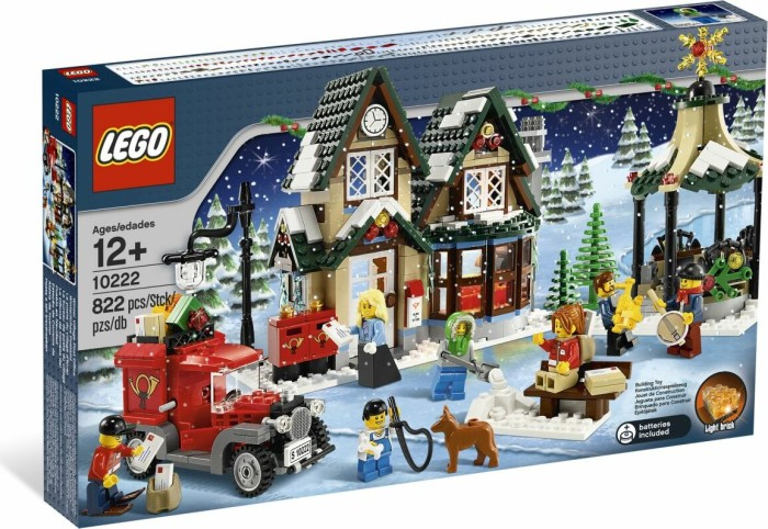 LEGO - Creator Expert - Wintery Post Office (10222) -- via Amazon Partnerprogramm