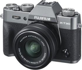 Fujifilm X-T30 anthrazit mit Objektiv XC 15-45mm 3.5-5.6 OIS PZ
