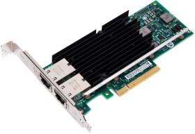 Intel X540-T2, 2x RJ-45, PCIe 2.1 x8, retail (X540T2)