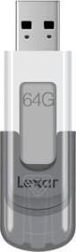 Lexar JumpDrive V100 Gray 64GB, USB-A 3.0 (LJDV100-64GABGY)