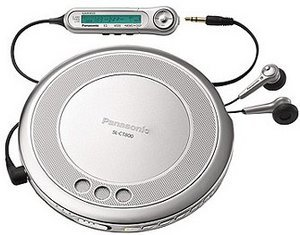Panasonic SL-CT800 silver