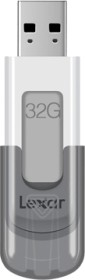 Lexar JumpDrive V100 Gray 32GB, USB-A 3.0 (LJDV100-32GABGY)