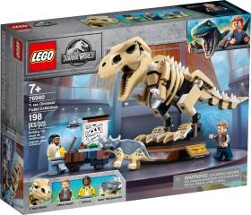 LEGO Jurassic World - T-Rex-Skelett in der Fossilienausstellung (76940)