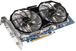 Gigabyte GeForce GTX 560 SOC, 1GB GDDR5, 2x DVI, mini HDMI (GV-N56GSO-1GI)