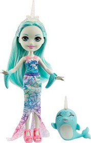 Mattel Enchantimals Naddie Narwhal & Sword (GJX41)