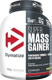 Dymatize Super Mass Gainer BCAA Erdbeere 2.94kg (25211101)