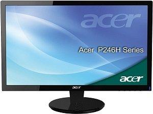 """Acer P6 Premium Home P246HAbd, 24"""" (ET.FP6U.A01)"""
