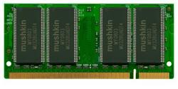 Mushkin Enhanced Essentials SO-DIMM  512MB PC-2700S CL2.5 (DDR-333) (991011)