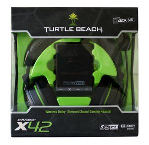 Turtle Beach Ear Force X42 wireless Gaming headset (Xbox 360) (XBO32414)