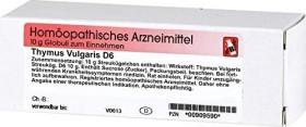 Dr.Reckeweg Thymus vulgaris D6 Globuli, 10g