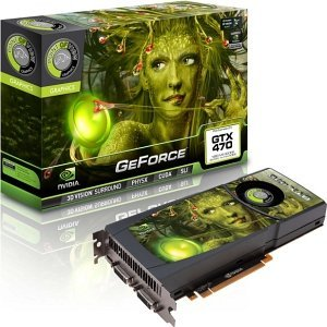 Point of View GeForce GTX 470, 1.25GB GDDR5, 2x DVI, mini HDMI (VGA-470-A1)