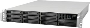 Synology RackStation RS2211RP+, 2x Gb LAN, 2HE