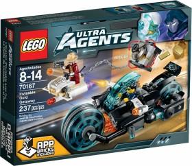 LEGO Ultra Agents - Invizable's Goldraub (70167)