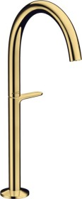Hansgrohe AXOR One Select 260 bathroom sink tap polished gold optic (48030990)