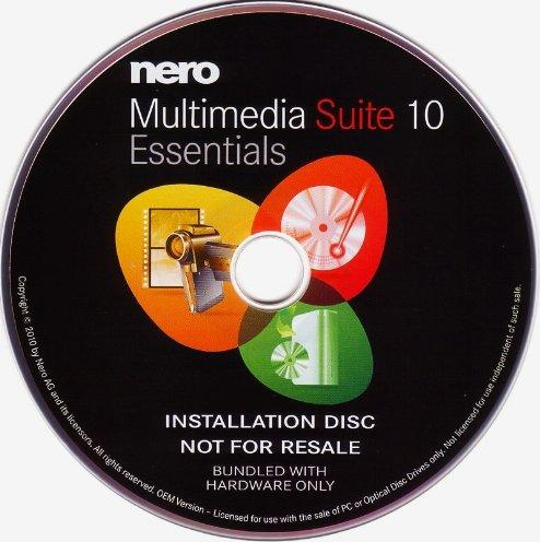 Nero multimedia Suite 10 Essentials, OEM (German) (PC) -- via Amazon Partnerprogramm