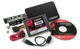 Kingston SSDNow V+ Drive - Bundle - 512GB, SATA (SNVP325-S2B/512GB)