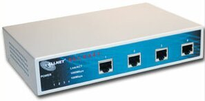 Allnet ALL8444 4-portowy 10/100/1000 MBit switch