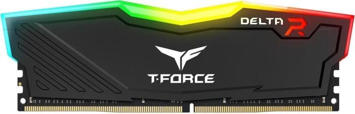TeamGroup T-Force Delta RGB schwarz DIMM 8GB, DDR4-2400, CL17-17-17-35 (TF3D48G2400HC15B01)