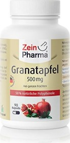 pomegranate 500mg capsules, 90 pieces